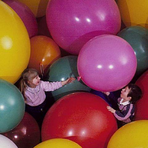 Giant balloons, diameter: 90 cm, selectable colours
